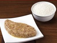 冬菇肉饼饭