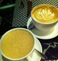 泡沫咖啡.
